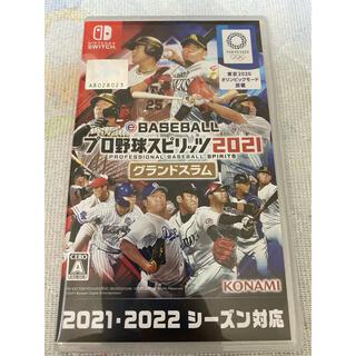 コナミ(KONAMI)のeBASEBALLプロ野球スピリッツ2021 グランドスラム Switch(家庭用ゲームソフト)