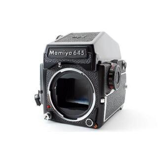 Mamiya M645 1000S ボディ + プリズムファインダー(フィルムカメラ)