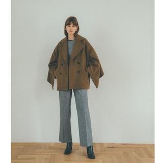 STUDIOUS - 【新品】CLANE クラネ / BACK FRILL DOUBLE COAT