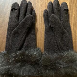 スマホ対応 アウトフィンガー ゆびでる グローブ 手袋
