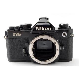 ニコン(Nikon)のNikon NEW FM2 後期 ボディ ブラック 【動作確認済・露出計OK】(フィルムカメラ)