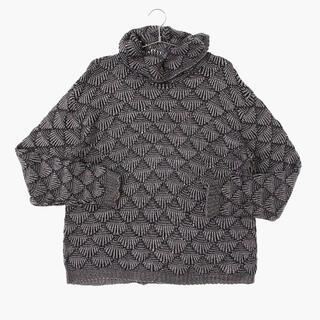 アメリヴィンテージ(Ameri VINTAGE)のvintage cotton kint sweater sullen(ニット/セーター)