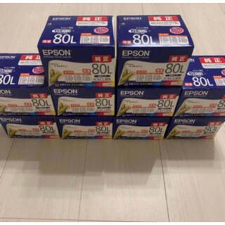 EPSON - エプソン 純正 インクカートリッジ IC6CL80L 6色セット 10箱セット