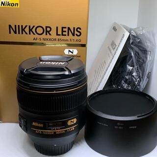 Nikon - 【美品】Nikon AF-S NIKKOR 85mm f/1.4G オマケ付き