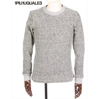 ウノピゥウノウグァーレトレ(1piu1uguale3)の1PIU1UGUALE3 長袖ニットカットソー スウェット ロングTシャツ(ニット/セーター)