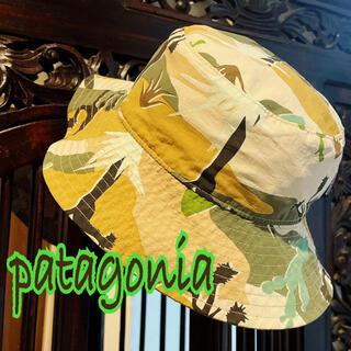 パタゴニア(patagonia)のパタゴニア リバーシブル ハット 3T 5T 帽子 迷彩 水着 ザノースフェイス(帽子)