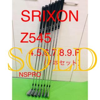 スリクソン(Srixon)のスリクソン z545 アイアンセット(クラブ)