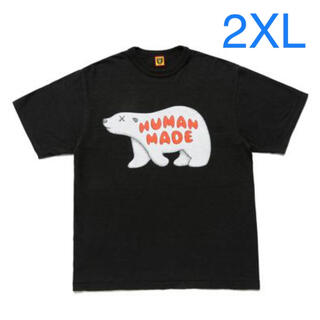 A BATHING APE - HUMAN MADE KAWS BEAR TSHIRT #7 白クマ bear
