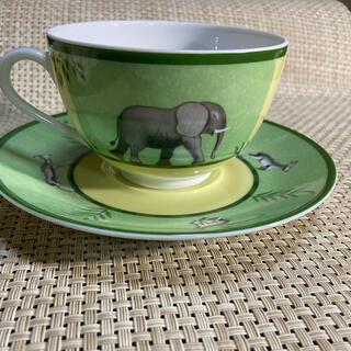 エルメス(Hermes)のエルメス アフリカ ティーカップ&ソーサー(食器)