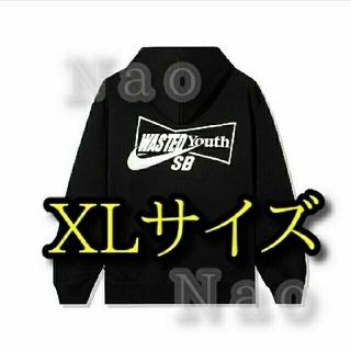 NIKE - XLサイズ WASTED YOUTH Nike SB HOODY