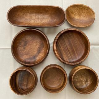 木の皿 木の器 セット まとめ売り お皿 サラダ皿 ライスボウル