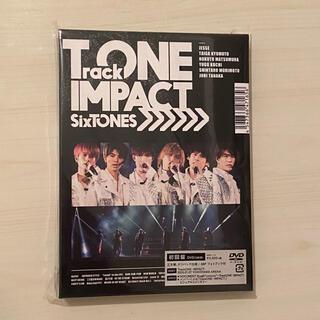 Johnny's - 新品 SixTONES TrackONE IMPACT 初回盤DVD