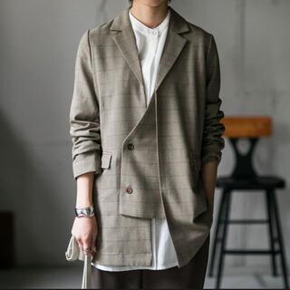 アンティカ(antiqua)のジャケット レディース トップス アウター 羽織/変形テーラードジャケット/新品(テーラードジャケット)