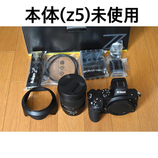 Nikon - (未使用)Nikon z5 + (2回使用)NIKKOR Z 24-70F4 S