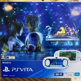 SONY - PlayStationVitaFINALFANTASYX/X2 vita本体