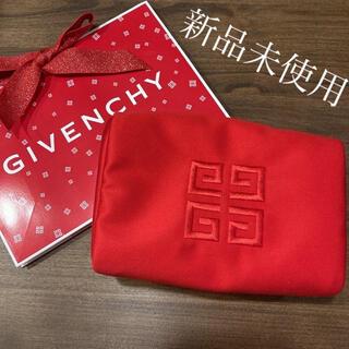 GIVENCHY - ジバンシイ クリスマス ポーチ 赤
