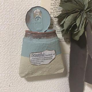 リメイク缶バッグ(プランター)