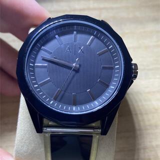 アルマーニエクスチェンジ(ARMANI EXCHANGE)のアルマーニエクスチェンジ A / X 美品 メンズ 腕時計 稼働品 純正ラバー(腕時計(アナログ))