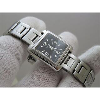SEIKO - SEIKO LUKIA 腕時計 レクタンギュラー 黒文字盤
