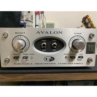 Alva様専用!AVALON DESIGN U5 SILVER(エフェクター)