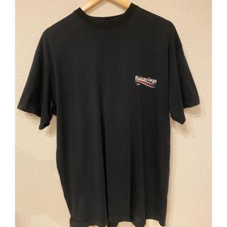 Balenciaga - 17aw BALENCIAGA CAMPAIGN LOGO T-shirt XS