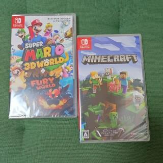 Nintendo Switch - 【新品未開封】スーパーマリオ3Dワールド+フューリーワールド & マインクラフト