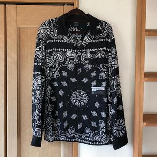 GU - GU ミハラヤスヒロ ボーリングシャツ オープンカラーシャツ 総柄シャツ