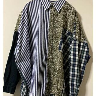 Jieda - 極美品 JieDa ジエダ パッチワークシャツ