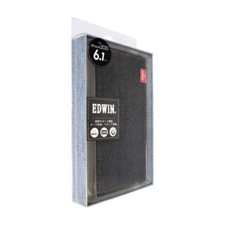 エドウィン(EDWIN)の株 エム・ディー・シー iPhone 12/12 Pro EDWIN 手帳ケース(モバイルケース/カバー)