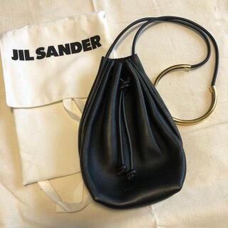 Jil Sander - jilsander ブレスレット付きレザーミニバッグ ハンドバッグ
