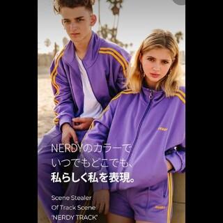 ☆新品 NERDY  ネイビー トラックジャージ  M
