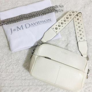 J&M DAVIDSON - 美品 J&M DAVIDSON ガブリエル ウィズ スタッズ 白