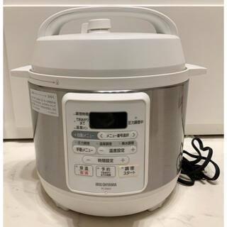 アイリスオーヤマ - 【訳あり】アイリスオーヤマ 電気圧力鍋3L PC-EMA3-W