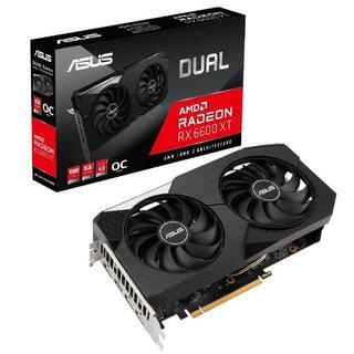 ASUS - [新品]ASUS AMD RADEON RX 6600 XT DUAL 6個