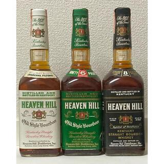 【オールドボトル3本セット】 ヘブンヒル NV & 6年 & 8年