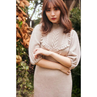 snidel - Her lip to♡新品完売即日発送 Knit Dress