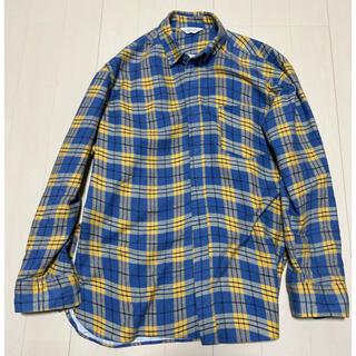 アンユーズド(UNUSED)のunused 20aw ネルシャツ(シャツ)