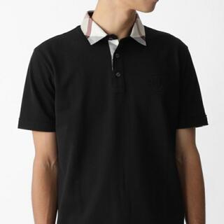 BLACK LABEL CRESTBRIDGE - 未使用に近い  ブラックレーベルクレストブリッジ  ポロシャツ  バーバリー