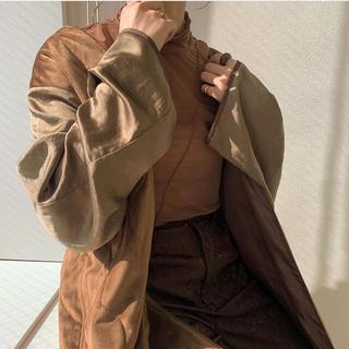 Kastane - 値下げ!amiur/vintage satin gown coat