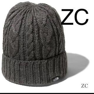 ザノースフェイス(THE NORTH FACE)の【新品】ノースフェイス ケーブルビーニー NN42036 ニット帽(ニット帽/ビーニー)