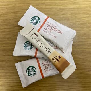 Starbucks Coffee - スターバックス スティックコーヒー3本+韓国 カヌラテ
