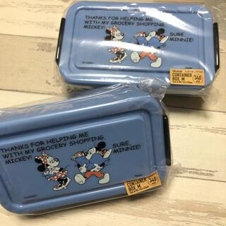 ミッキーマウス(ミッキーマウス)のディズニー ミッキー &ミニー フードパック フードコンテナ。(キャラクターグッズ)