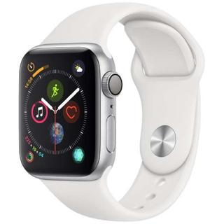 Apple Watch - Apple Watch Series 4  40mm シルバーアルミ バンド付き