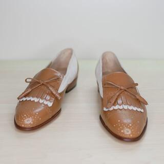 サルヴァトーレフェラガモ(Salvatore Ferragamo)の未使用 Salvatore Ferragamo フェラガモ 5B シューズ(ローファー/革靴)
