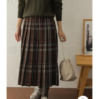 DOORS / URBAN RESEARCH - 新品アーバンリサーチドアーズ★カラーチェックプリーツロングスカート
