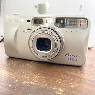 【完動品】MINOLTA フィルムカメラ capios150s(フィルムカメラ)