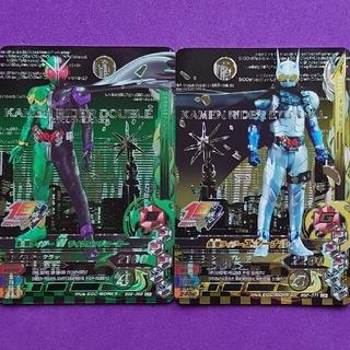 カメンライダーバトルガンバライド(仮面ライダーバトル ガンバライド)のBS2弾CP仮面ライダーW&エターナル 2枚組(その他)