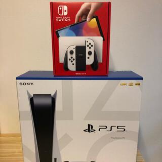 PlayStation - ps5 通常版 + Switch 有機ELモデル ホワイト 新品 未使用
