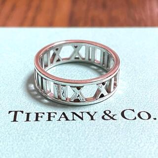 ティファニー(Tiffany & Co.)のティファニー アトラス オープン リング 指輪 16号 メンズ シルバー925(リング(指輪))