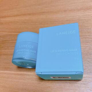 ラネージュ(LANEIGE)のLANEIGE リップスリーピングマスク ミントチョコ 20g(リップケア/リップクリーム)